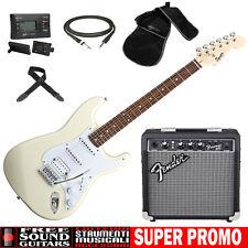 FENDER Squier Bullet Stratocaster HSS Kit chitarra elettrica + Amplificatore