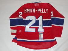 DEVANTE SMITH-PELLY SIGNED REEBOK PREMIER MONTREAL CANADIENS #21 JERSEY JSA COA