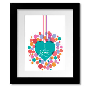Love Song - The Cure Lyric Inspired Pop Music Room Wall Art Print Poster Design