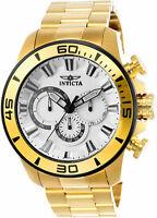 Invicta Men's Pro Diver Quartz Chrono 100m Gold Tone Stainless Steel Watch 22589