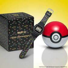 BABY-G x Pokemon 25th Anniversary BGD560PKC-1 Pikachu Limited Edition
