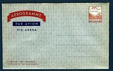 ITALIA REP. - Aerogramma - 1960 - 110 L. - Aereo e alpi. Arancio e Azzurro