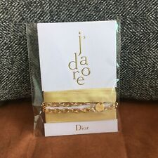 Dior J'adore Gold Bracelet Necklace Belt Chain Accessory Brand New VIP Gift