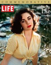 Commemorative ELIZABETH TAYLOR Brand NEW Coffee Table Bk LIFE Magazine LIZ TIME