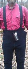 Polartec 200 Fleece Overalls Extreme Cold Black Military Issue Medium Short