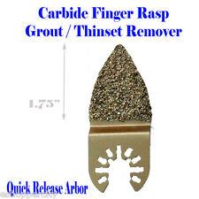 Carbide Grout Rasp Multi Tool Saw Blade For Fein Rockwell Hyperlock Chicago