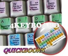 QuickBooks keyboard sticker