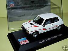 TALBOT SAMBA RALLYE 1983 IXO ALTAYA 1/43