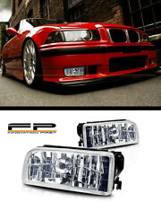 1992-1998 BMW E36 M3 3 Series Replacement Fog Lights Housing Clear Glass Lens
