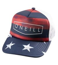New O'Neill Freedom Trucker Snapback Mesh Hat Cap