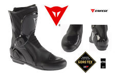 NEW - DAINESE TRQ-TOUR - MOTORCYCLE TOURING BOOTS - NERO - SIZE 7.5 / 40 (EU)