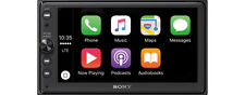 Sony XAV-AX100 Media Receiver with Bluetooth, CarPlay and Android Auto