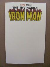 Invincible Iron Man #600 Marvel Comics Blank Cover Variant 9.6 Near Mint+