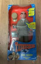 "Vintage 1999 VIVID Thunderbirds THE HOOD Talking 12"" Action Figure Boxed"