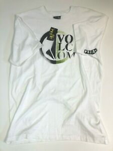 Volcom New Classic Logo Short Sleeve Graphic T-Shirt Youth Boy's XL