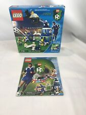 Lego Soccer 3408 Box And Instructions Only!