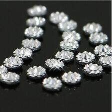 4mm Manicure Nail Art Crystal Glitter Clear Rhinestone Beauty Nail Tips Decor ID