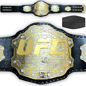 UFC Championship Belt Ultimate Fighting Belt Replica Adult Size 2MM BRASS Title