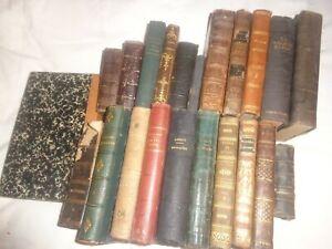 Lot de 21 Livres Religieux anciens , la plupart d'avant 1900