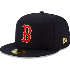Men's Boston Red Sox New Era Navy 2019 Gold Program 59FIFTY Fitted Hat Baseball