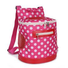 Pet Dog Cat Dot Carrier Shoulder Backpack Travel Outdoor Front Chest Bag 4857