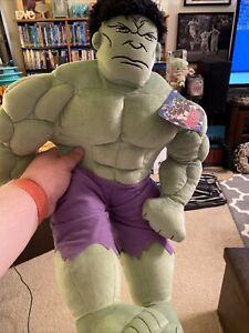 "Marvel Avengers Incredible Hulk Large Plush 24"" Super Hero Comics Stuffed Animal"