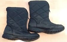2ff58cf99 Womens C9 Champion Winter Boots Size 8 Faux Fur Lining Quilted Black