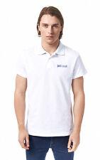 JUST CAVALLI Beachwear Branded Polo Shirt BNWT