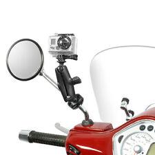 GoPro® Hero Kamerahalter mit Spiegelarmhalterung für Roller, Scooter, Motorrad