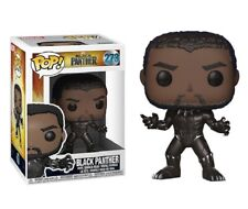 POP! MARVEL COMICS BLACK PANTHER BOBBLEHEAD VINYL FIGURE TOY