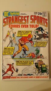 DC SPECIAL #7. June 1970. Strangest Sports Stories. Est FN/VF or better. Nice.