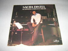 SACHA DISTEL 33 TOURS FRANCE BEATLES