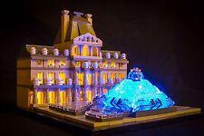 LIGHT MY BRICKS - LED Light kit for Lego Louvre set 21024 Lego LED Light