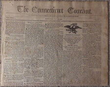 1799 Newspaper - Deserter U.S. Constitution/Northwest Territory News