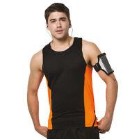 Gamegear KK973 Mens Cooltex Sports Vest Running Gym Fitness Jogging T-shirt Top