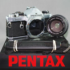 Pentax MX EXCELLENT Silver Pentax M 50mm 1.4 **SERVICED by ERIC** z42