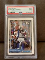 1992 Topps Shaquille O'Neal ROOKIE PSA 9 MINT SHAQUILLE RC 🔥🔥🔥