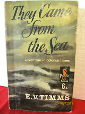 E.V. Timms  THEY CAME FROM THE SEA 1965 Australian Classic VINTAGE PAPERBACK