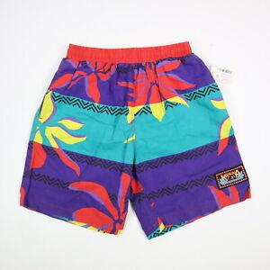 Vtg 90s OP Ocean Pacific Kahlina Hawaiian Swim Trunk Shorts NOS Deadstock M