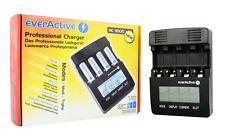 everactive Cargador NC 3000 AAA AA C D baterías+2 Adaptador+2 Baterías R20 5500