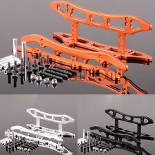 Chasis de aluminio CNC Set Trineo Protector Para RC 1:10 axial SCX10 Honcho Dingo