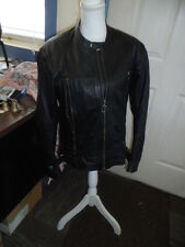 Harley Davidson Women's Leather Riding Jacket zippers