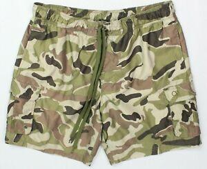 OP Mens XL (40-42) Camouflage Cargo Board Shorts Swim Trunks Drawstring Liner