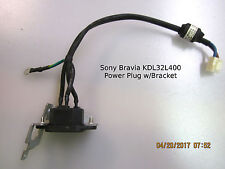 Sony Bravia KDL32L400 AC Power Plug w/Bracket