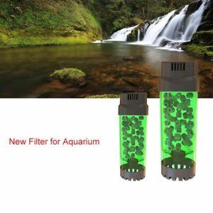 Fluidized Moving Bed Filter Bubble Aquarium Fish Tank Air Stone Sponge Filters