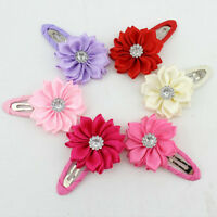 Bright Girls Sunflowers Hair Clips Accessories Hairpins for Kids Baby GnPLCA