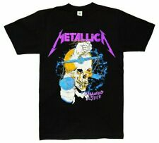 Metallica Damaged Justice Men's T-Shirt Black S-2XL