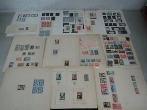 Nystamps Spain many mint old time stamp collection with better