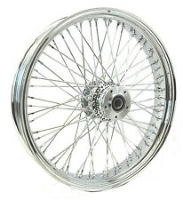 Chrome 21 3.5 60 Spoke Front Wheel Rim 00-07 Harley Touring Dual Disc Bagger