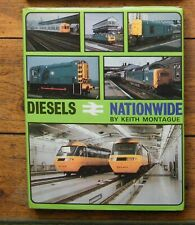 DIESELS NATIONWIDE by Keith Montague - Railway Book
